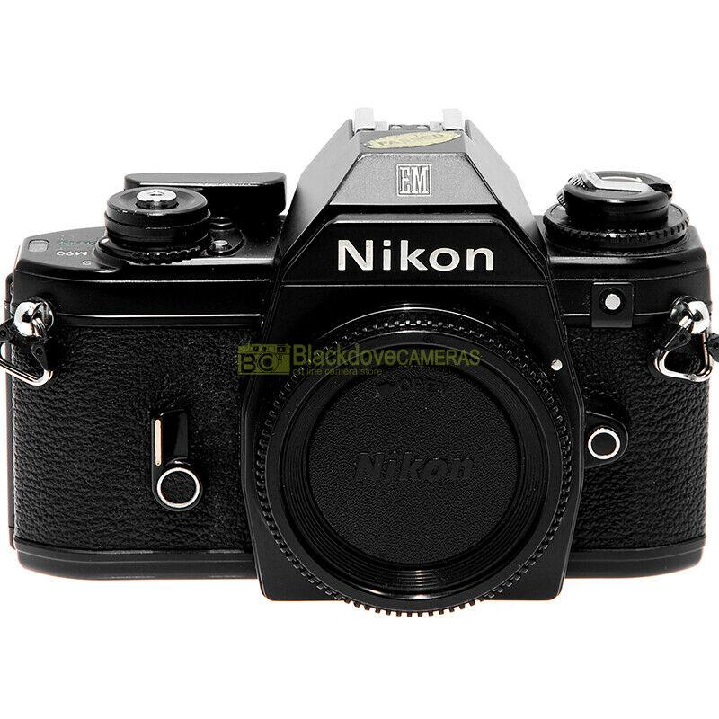 Nikon Em Fotocamera Reflex A Pellicola Macchina Fotografica Em Analogica Blackdove Cameras